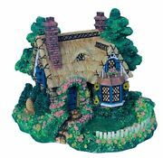 Cherished Teddies Village Sculpture Collection Picnic For Two 2 Cottage Figurine