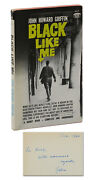 Black Like Me Signed By John Howard Griffin Inscribed To Kurt Enoch 1st Thus