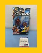 Stan Lee Signed The Avengers Iron Man Toy Mark 2 Coa Psa Dna 5a03340 Marvel