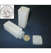 Thirty Seven 37 Square Quarter Coin Storage Tubes Each Tube Holds 40 Coins