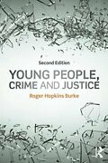 Young People, Crime And Justice By Burke New 9781138776623 Fast Free Shipping..