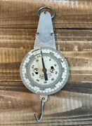 Vintage W.m. Welch Scientific Co. Chicago 72 Oz 2000 Grams Hanging Spring Scale