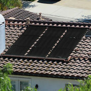 4and039 X 20and039 Ft Above / In-ground Solar Panel Heater System Kit For Swimming Pool