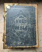 Antique Brown's Self-interpreting Family Holy Bible. 19th Century.