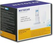 New And Sealed Netgear Dual Mode Cordless Phone With Skypesph200d