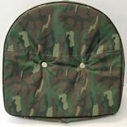 Camouflage Tractor Pan Seat Cover Universal Ford Fits John Deere Massey Case