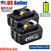4.0ah Battery For Makita Dtw285z 18v Cordless Impact Wrench