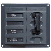 Bep Marine 900-acch Ac Circuit Breaker Panel Without Meters 2dp Ac230v