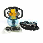 New Shimano Pd-me700 Spd Mountain Trail Mtb Clipless Pedals W/ Cleats Black M530
