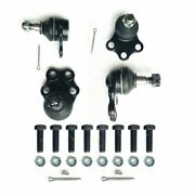 Front Upper And Lower Ball Joints Kit For 2000 2001 Dodge Ram 1500 Truck 2wd