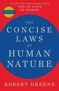 Concise Laws Of Human Nature By Robert Greene English New Paperback Book 2020