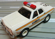 For H0 Slotcar Racing Model Railway - Illinois State Police With Package