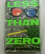 Less Than Zero - First Edition First Printing Hbk By Bret Easton Ellis