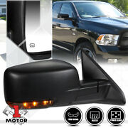 [right] Passenger Side Power+heated Foldable Replacement Mirror For 09-16 Ram