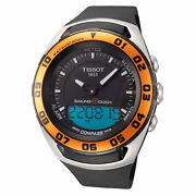 Tissot Menand039s T0564202705102 Sailing Touch 45mm Black Dial Rubber Watch