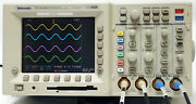 Tektronix Tds 3034b 4 Ch Oscilloscope 300 Mhz 2.5 Gs/s W/ Tds3trg And Tds Fft