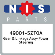 49001-5zt0a Nissan Gear And Linkage Assy-power Steering 490015zt0a New Genuine Oe