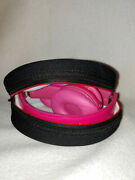 Beats By Dr. Dre Solo Hd Headband Headphones Hot Pink Case Tested Works