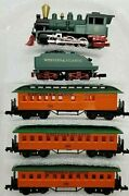 N Arnold/rapido Western And Atlantic W/ Passenger Cars Old Time Set Tested