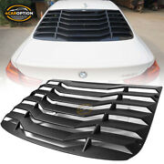 Fits 14-20 Bmw F32 4 Series Coupe Rear Window Louver Cover