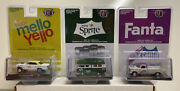 M2 Machines Coca Cola Release A03 1/64 Complete Set Of 3 Cars