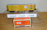 Lionel Tca 2009 Legacy Carnival Cruise Scale Size O Steel-sided Reefer Train Car