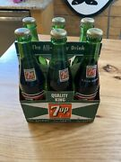 7up Bottle Six Pack 1960s Unopened Six Full Bottles 10 Ounces For Thirst