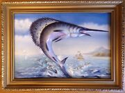 Sailfish Swordfish 3d Wall Plaque By Nick Upton Limited Edition No 4 Of 100