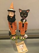Halloween Allen Cunningham 2 6andrdquo Little Candy Containers Bethany Lowe Retired