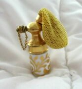 Antique Porcelain Perfume Atomizer Just 2 Tall Hand Painted Rare And Htf L@@k