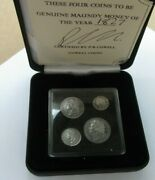 George Iv Maundy Money 1822 - 1830 Laurel Head Ref Spink 3816 Boxed With Cert