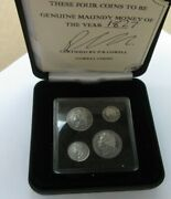 William Iv Maundy Money 1831 - 1837 Laurel Head Ref Spink 3816 Boxed With Cert
