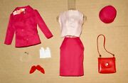 Japanese Exclusive Barbie Outfit 2639 Cranberry Suit