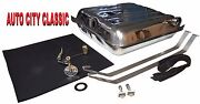 1955 And 1956 Chevy Stainless Gas Tank 5/16 Sending Unit Strap Kit And Tank Pad