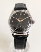 Omega Sub Seconds Black Dial Bumper Automatic Cal. 342 Dating To 1952