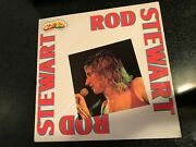 Rod Stewart Mint 80s Italy Super Star Series Lp + Booklet - Faces Pinball Wizard