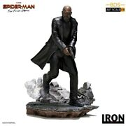 Spider-man Far From Home - Nick Fury Bds 110 Scale Statue-iro00113-iron Stu...