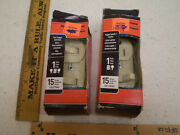 Lot Of 2 Pass And Seymour 690-igcc6 690-icc6 Combination 2 Single Pole Switches