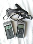 Comfort Audio Contego Transmitter/receiver Hearing Aid System W/ Neckloop