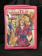 Vintage 1980s Barbie Jem And Maxie 3d Fashion Doll Case By Tara Toy Corp. A3