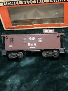 Lionel Train 6-6920 B And A Woodside Caboose With Illuminated Interior O-scale