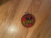 Collectible Williams Fire Pinball Game Keychain