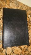 Holy Bible, Niv, Red Letter, Leather, 1996, Zondervan, Large Print, Vgc