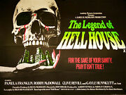 Poster Folded 29 7/8x39 13/16in The Legend Of Hell House / Damned Mcdowall