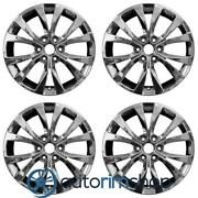 New 20 Replacement Wheels Rims For Ford F150 2015-2017 Set Light Pvd Chrome