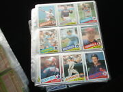 1985 Topps Baseball Complete Set Of 792 Overall Nm-mt W/ Clemens Puckett Mcgwire