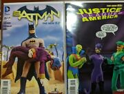 Justice League Of America 13 And Batman 29 Robot Chicken Variant Low Print Run
