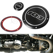 Motor Engine 103 Derby Timing Timer Cover For Harley Softail Dyna Electra Glide