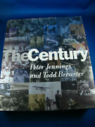 The Century By Peter Jennings And Todd Brewster 1998 Hardcover Coffee Table Book