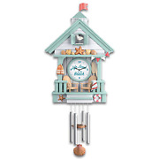 Bradford Life Is Good At The Beach Wall Clock With Wave Sounds Ltd Edition
